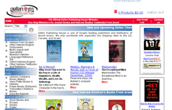 ecommerce site selling books