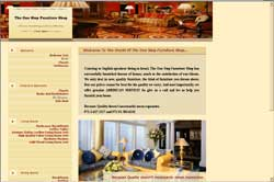 website for furniture store