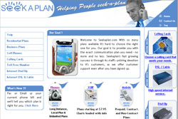 business website comparing phone plans